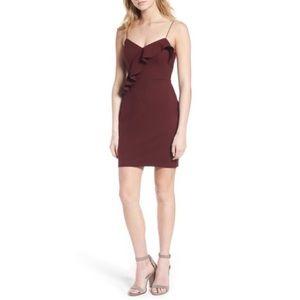 ASTR the Label Ruffle Body-Con Dress